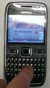 Nokia E72 Débloqué