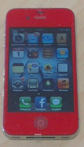 iPhone All Red