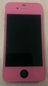 iPhone Pink Black