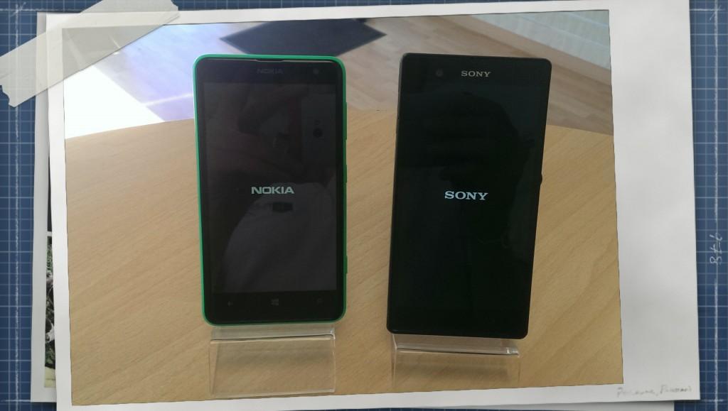 Nokia Lumia 625 + Sony Xperia Z - Occasions